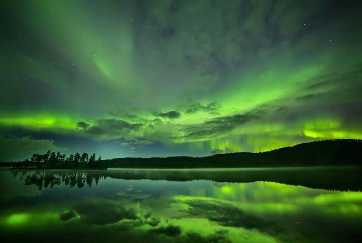 Afbeelding van Herfstreis Fins Lapland Ukko Inari Northern Lights Wilderness