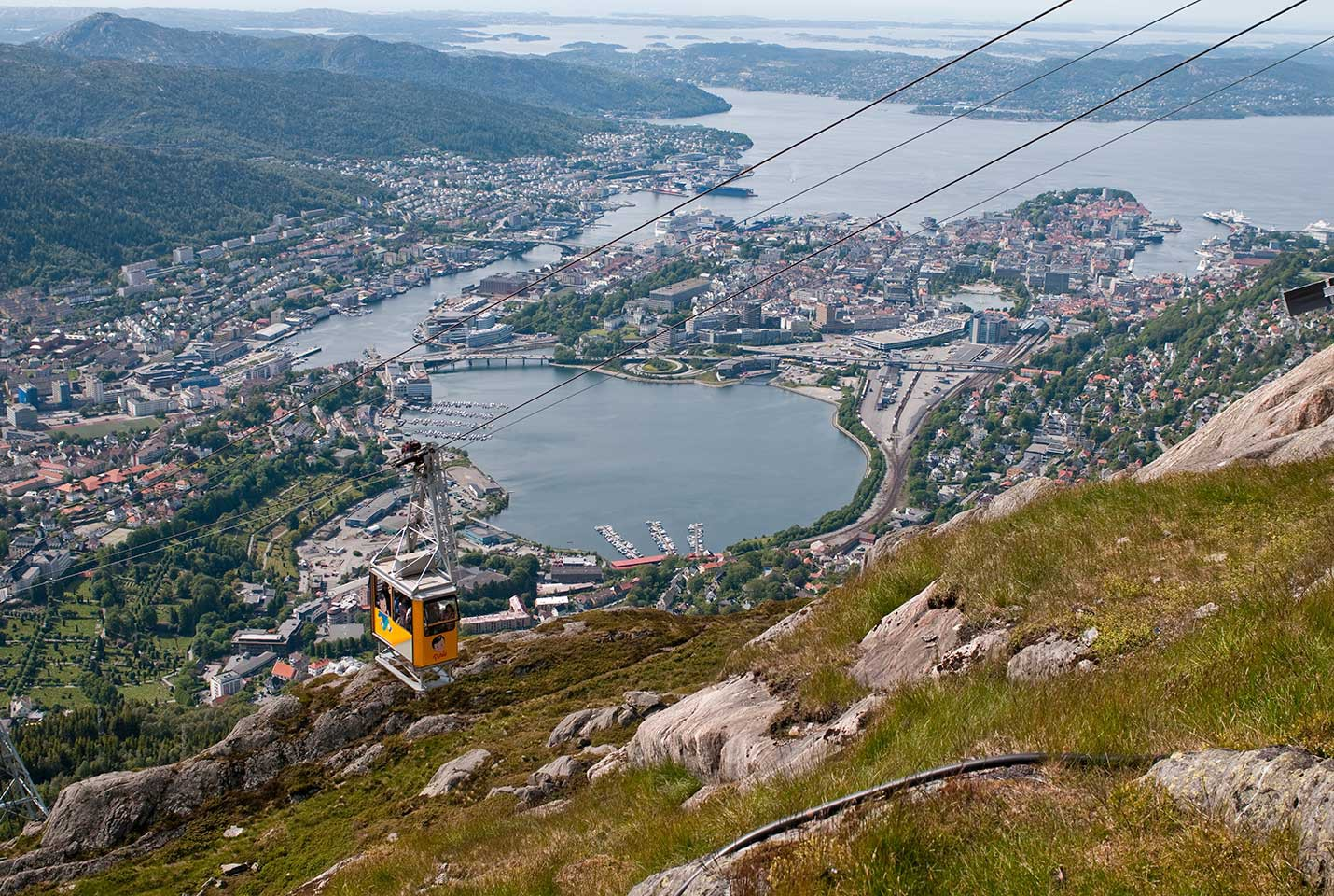 Afbeelding van Hodr Mount Ulriken Cable Car CH VisitNorway