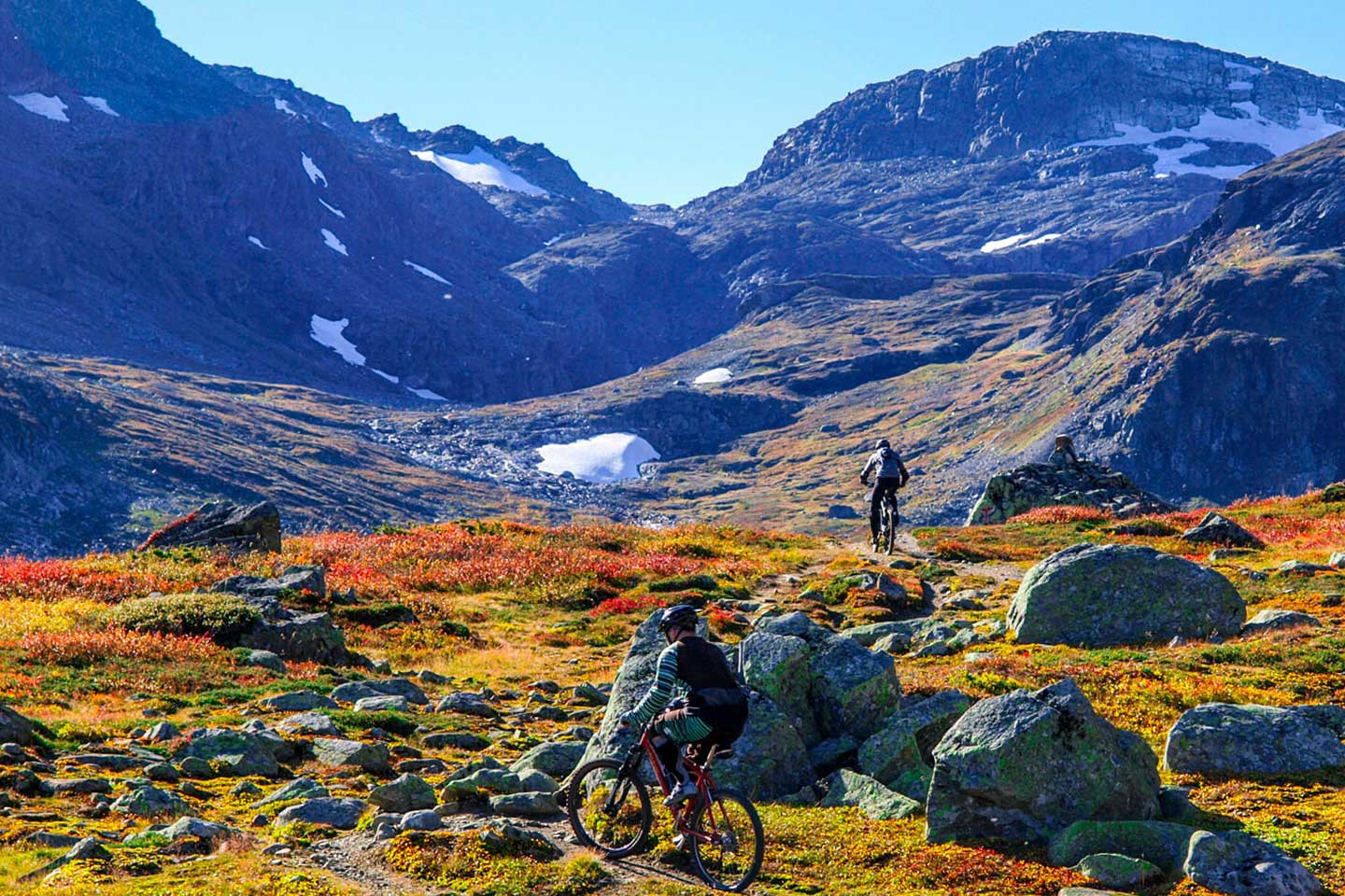Afbeelding van Mountain Biking In Raggsteindalen Visitnorway