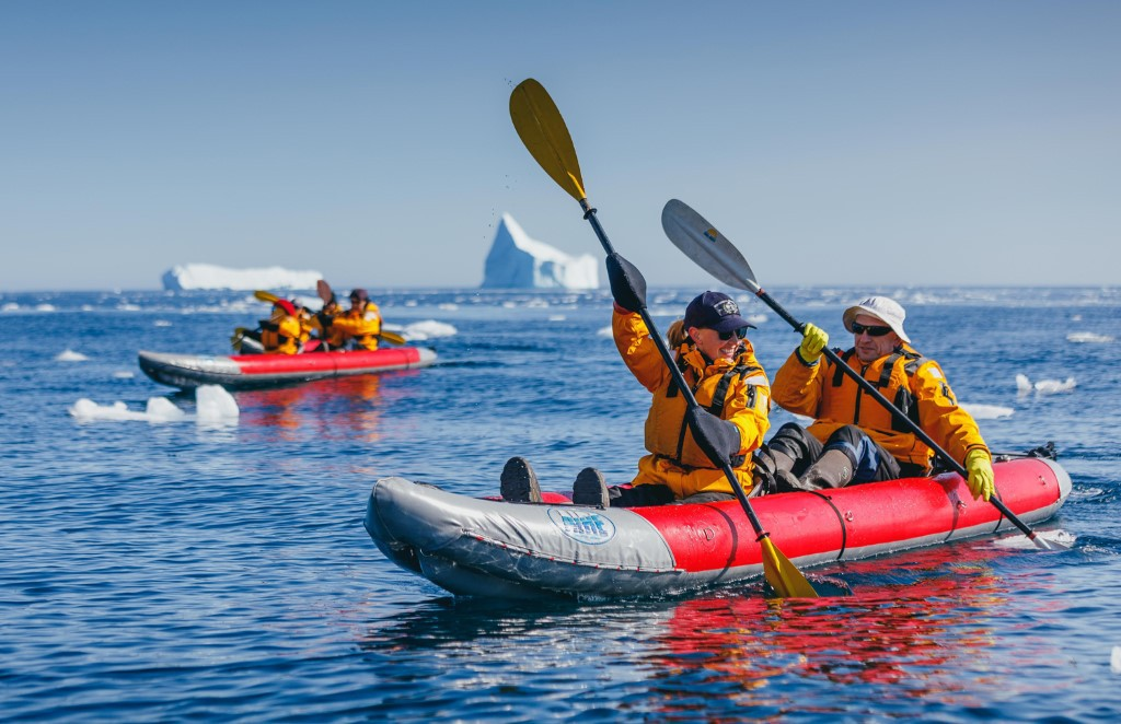 Afbeelding van Peddelen Spitsbergen Quark Expeditions