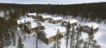 Muotka Wilderness Hotel Panorama Log Cabin