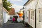 Auto Rondreis Bure View Towards The Harbour From Ovre Strandgate Ch Visitnorway