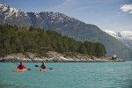 Culinaire Reis Borghild Kayaking On The Hardangerfjord Ch Visitnorway Com
