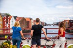 Hurtigruten Hotelrondreis Freyr City Bike In Trondheim Martin Handlykken Visitnorway