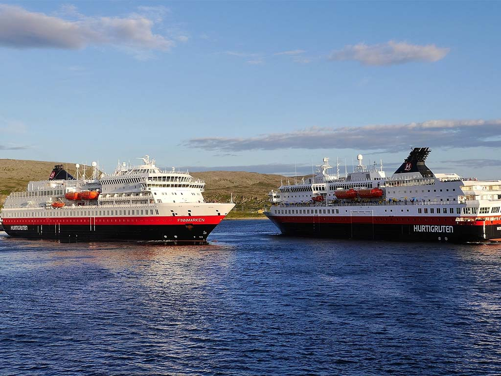 Hurtigruten Haven Berlevåg