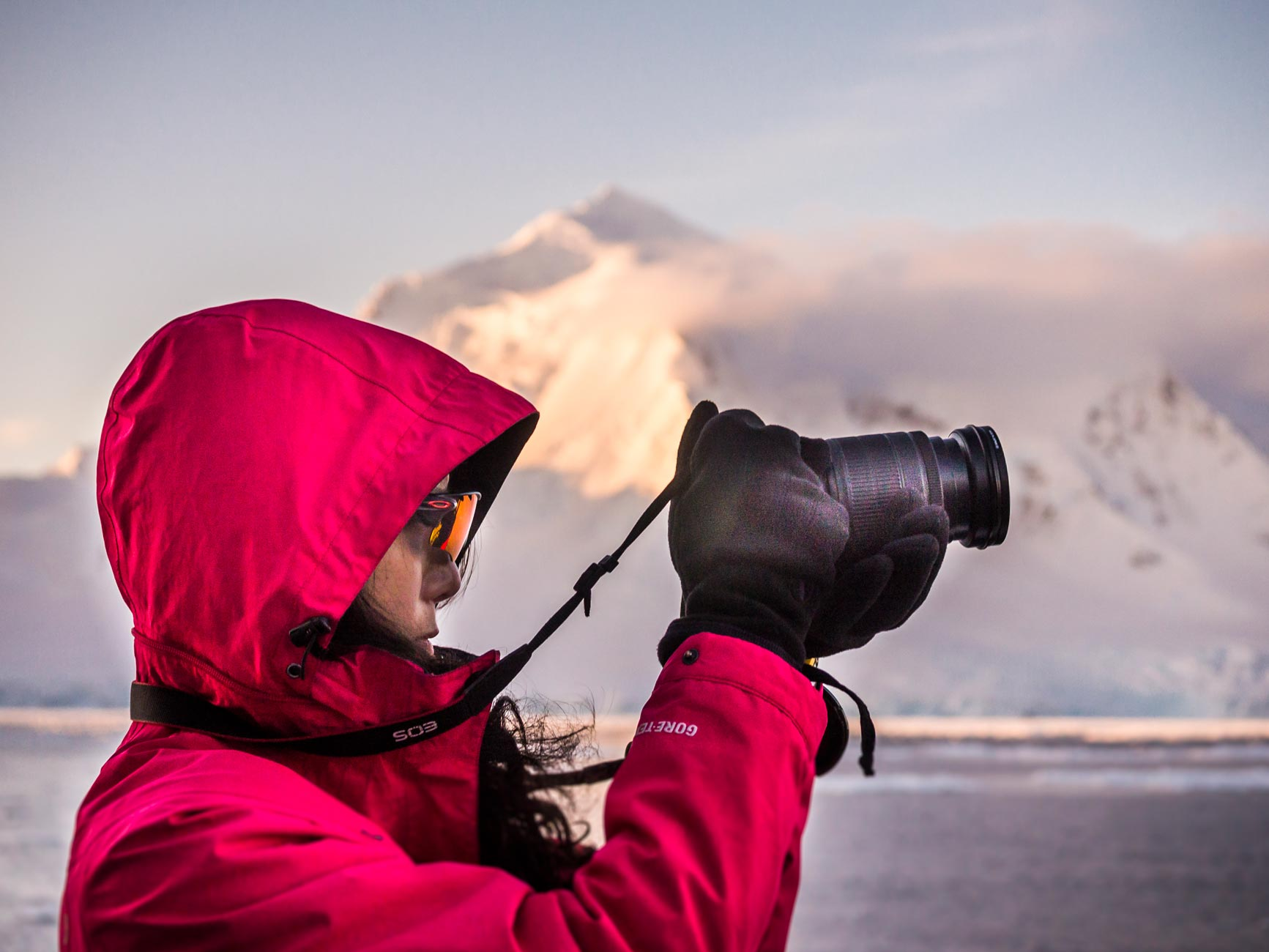 Foto workshop Antarctica