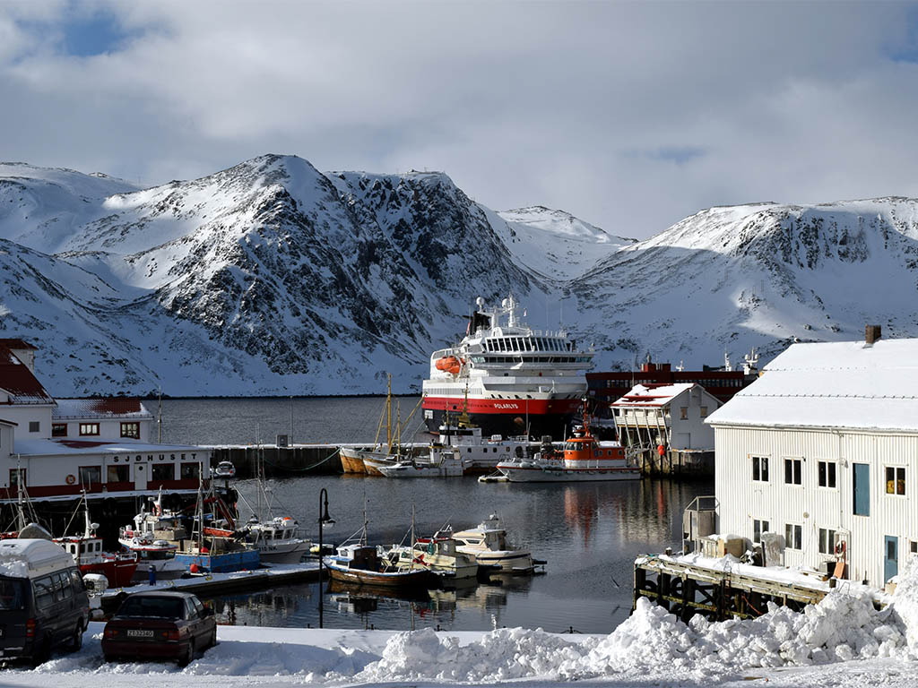Hurtigruten Haven Honningsvåg