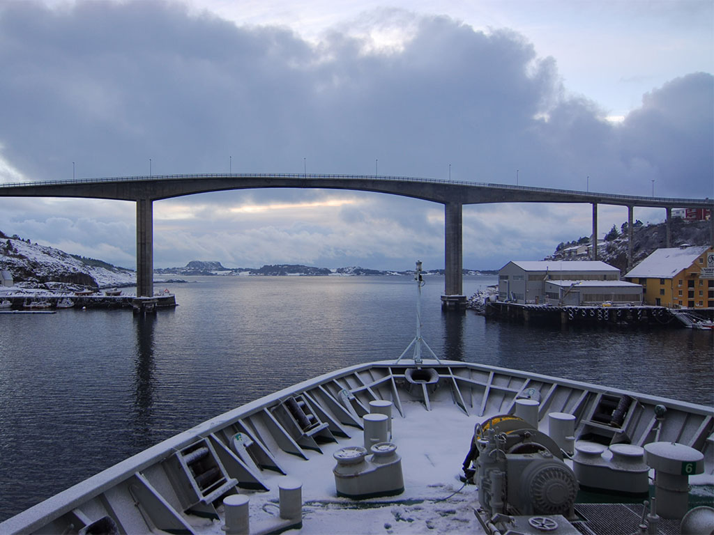 Hurtigruten Haven Kristiansund